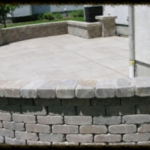 Stone Paver step wall Port Charlotte, FL