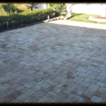 Brick Paver Patio in yard in Sarasota, FL