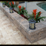 Brick Paver Planter in Sarasota, FL