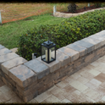 Brick Paver raised planter in Sarasota, FL