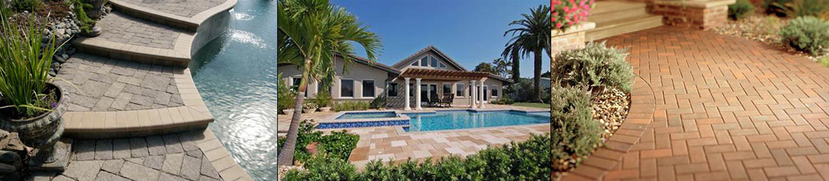 Brick, Stone pavers on driveway, patio, and pool deck patio in Sarasota, FL part 3