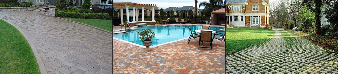 Brick, Stone pavers on driveway, patio, and pool deck patio in Sarasota, FL part 2