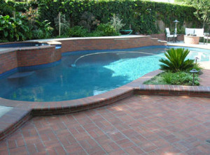 swimming pool deck pavers add beauty to your recreation area!