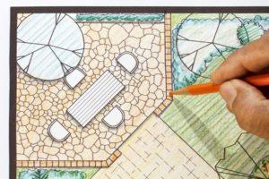 hardscape design with pavers