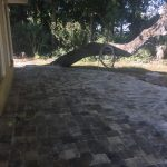 Concrete Paver Installation of a deck in North Port
