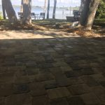 Brick Paver Installation for a paver deck in Venice